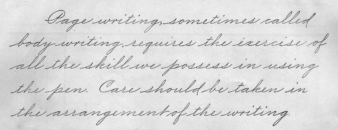Beautiful Cursive Handwriting